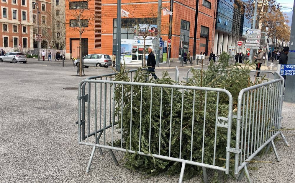 Point depot recyclage sapin noel made in marseille - Ou jeter son sapin de noel ...