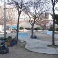 L'actuel espace va être aménagé en jardins boisés et plantés © AP