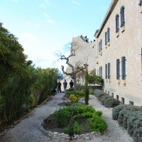 Le jardin de Notre Dame de la Garde