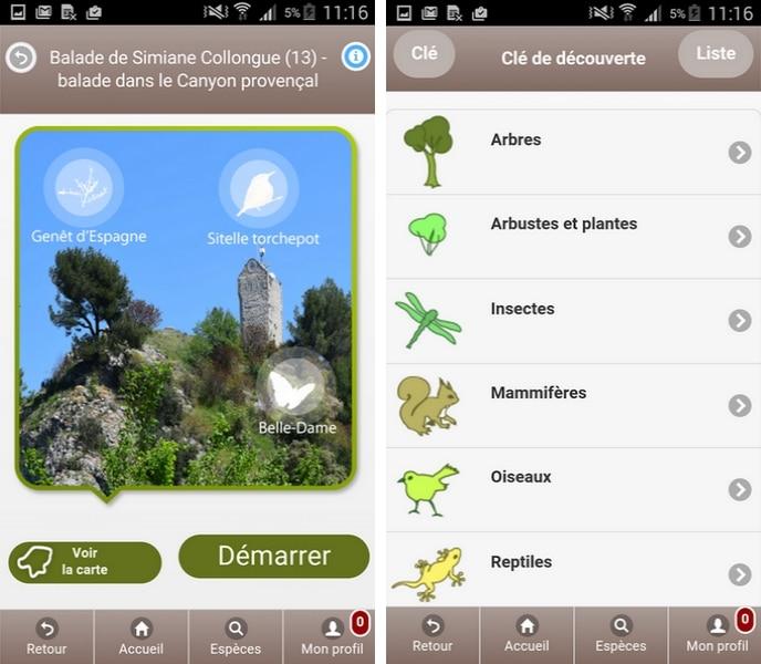 ecobalade-calanque-faune-flore-applications