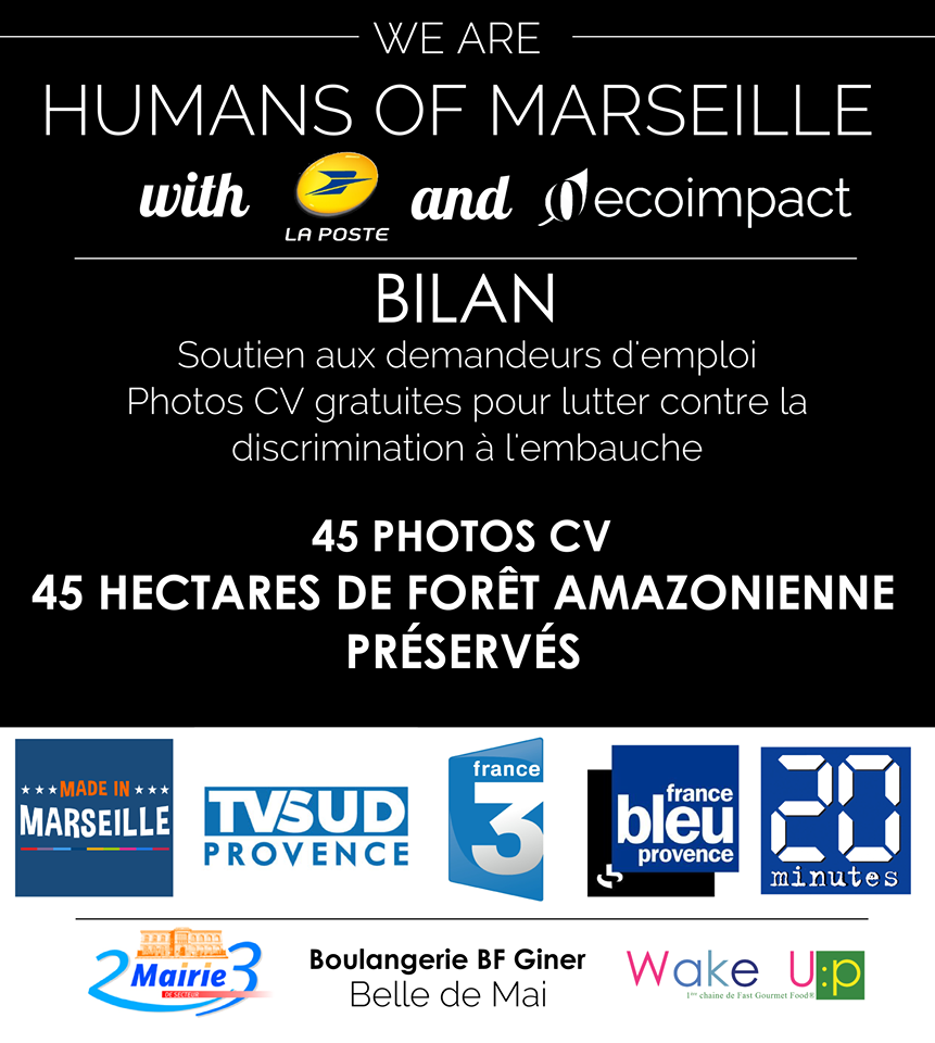 pour booster l u0026 39 emploi  humans of marseille a r u00e9alis u00e9 un shooting cv gratuit