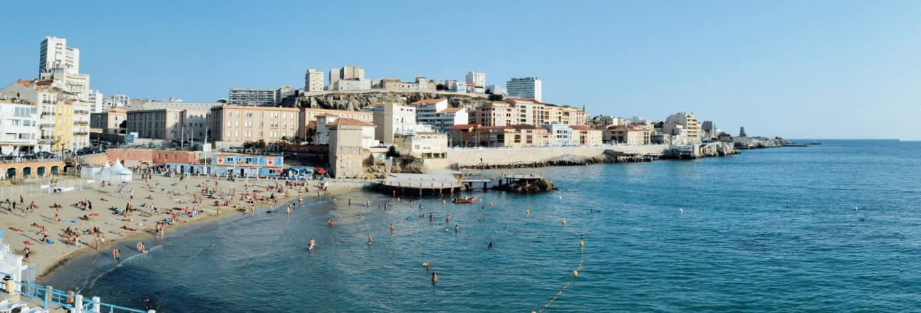 Projet la ville de marseille va r habiliter la plage des catalans made in - Le petit pavillon marseille ...