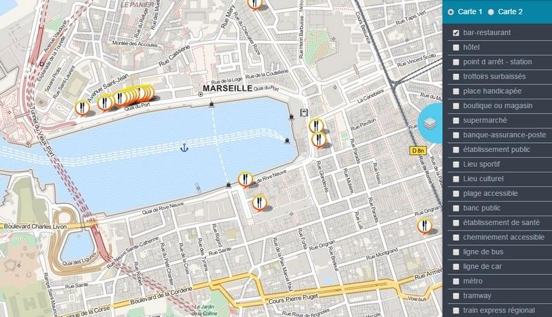 , Un site pour aider les personnes en situation de handicap à se déplacer, Made in Marseille