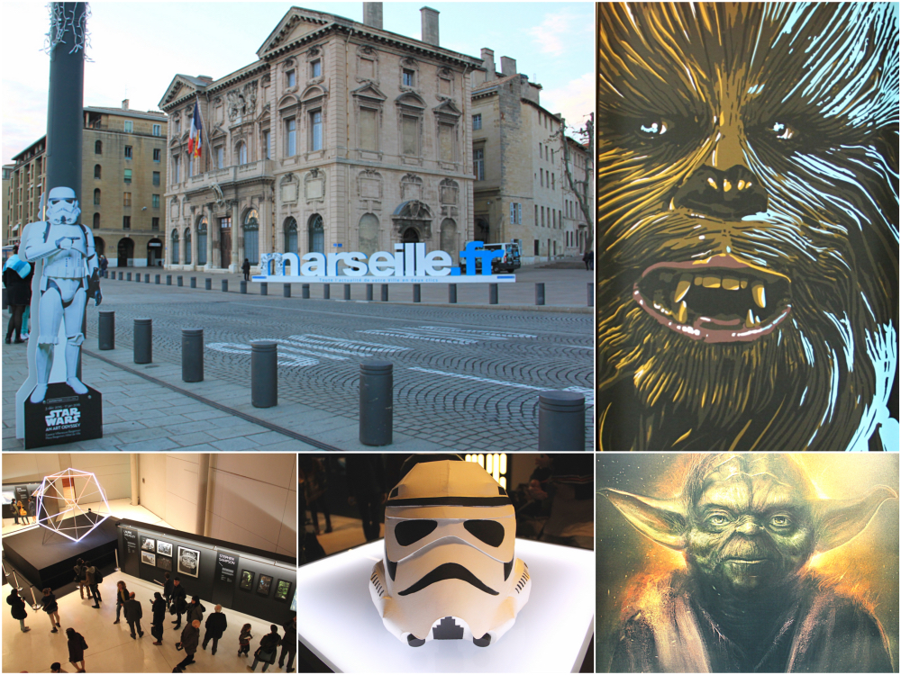 marseille accueille une exposition star wars unique au. Black Bedroom Furniture Sets. Home Design Ideas