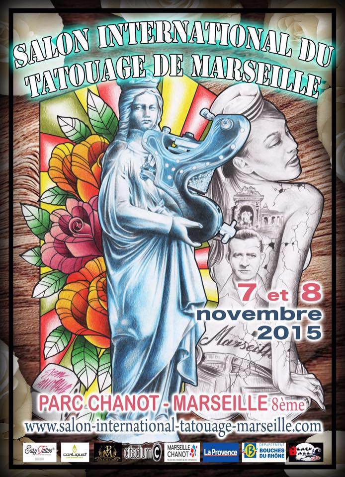 Agenda le salon international du tatouage fait sa grande for Salon marseille parc chanot