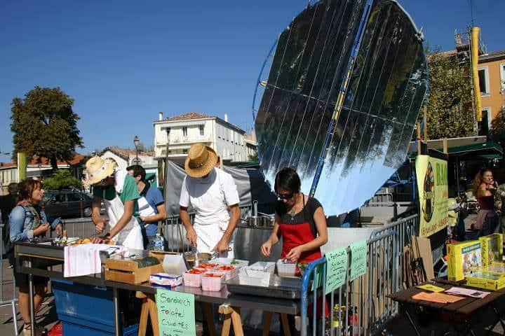 restaurant, Le Présage – Le 1er restaurant solaire de France est à Aubagne, Made in Marseille