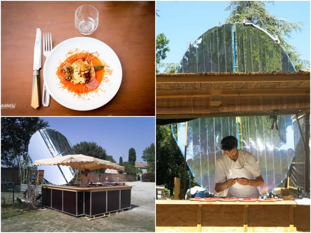 restaurant, Le Présage – Le 1er restaurant solaire de France est à Aubagne