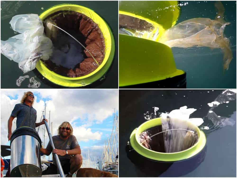 rencontre avec les inventeurs de la poubelle capable de nettoyer la mer made in marseille. Black Bedroom Furniture Sets. Home Design Ideas