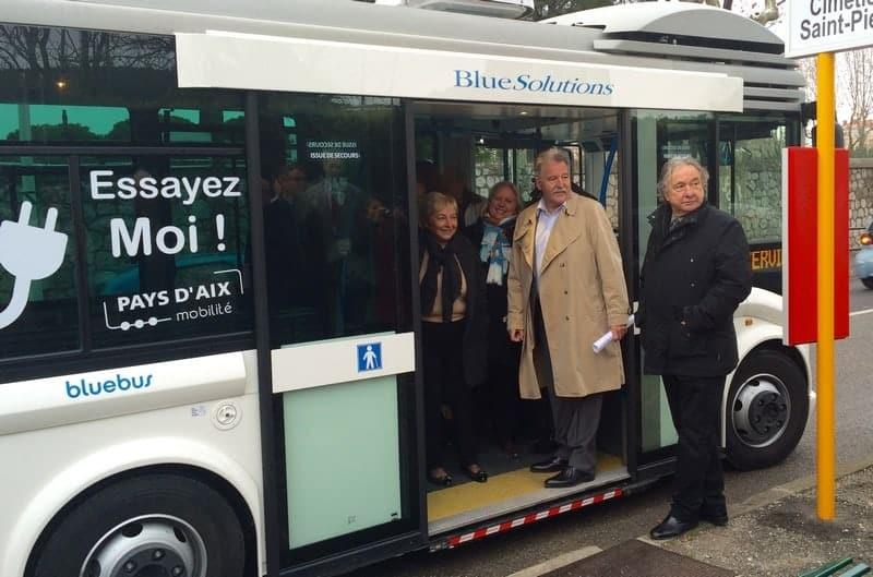 Transports c est au tour d aix en provence de tester le - Salon de provence aix en provence bus ...