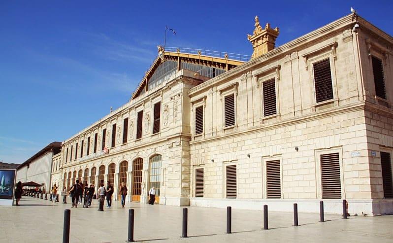 La gare Saint Charles