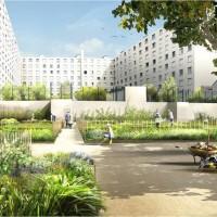 jardin partagé, Un avenir tout vert se dessine sur la place du Refuge dans le Panier