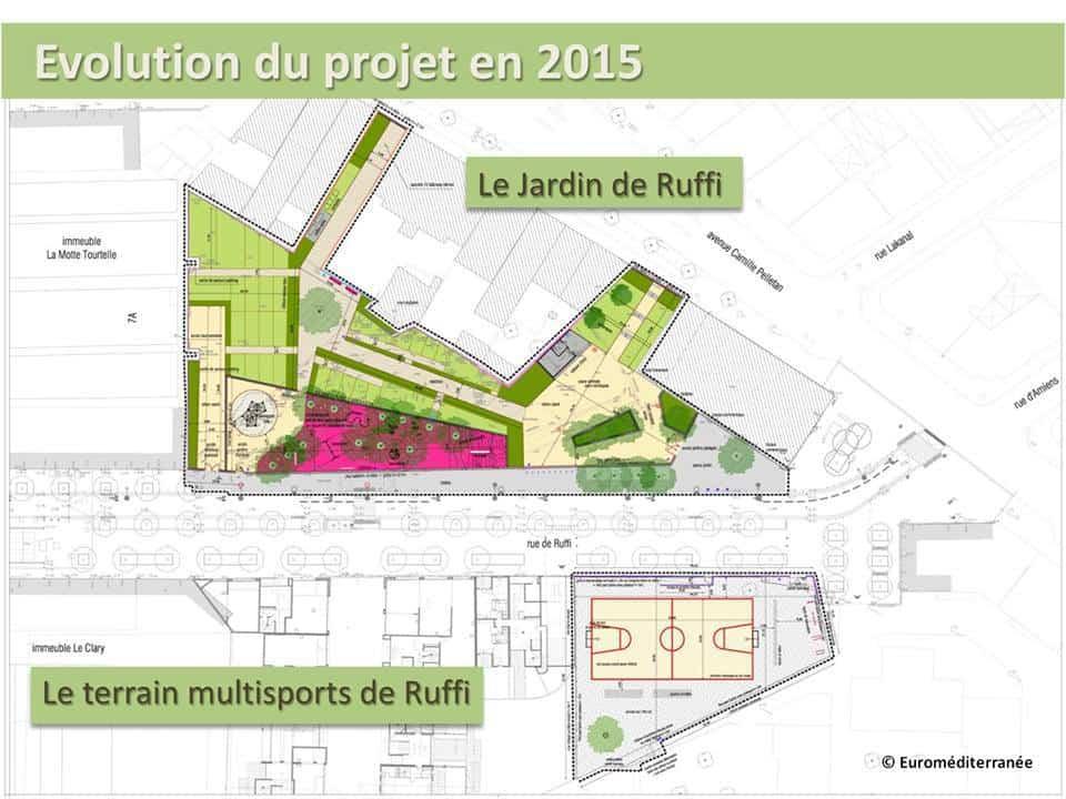 Les habitants de la joliette auront des jardins partag s for Projet de plan