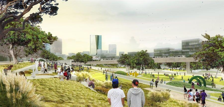 parc Bougainville, #Bougainville – Un futur parc immense aux portes des quartiers Nord, Made in Marseille, Made in Marseille