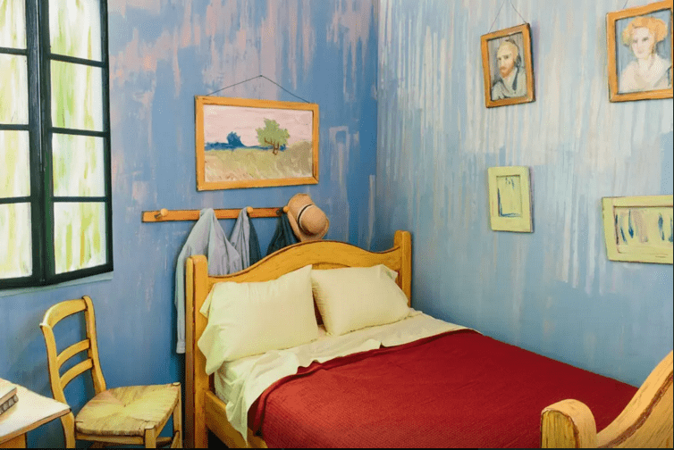 insolite une r plique du tableau de van gogh chicago made in marseille. Black Bedroom Furniture Sets. Home Design Ideas