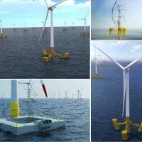 Les éoliennes flottantes partent à l'assaut de la Méditerranée