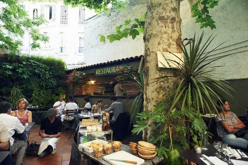 patio, Les meilleurs restaurants à Marseille avec jardin ou patio, au frais !, Made in Marseille