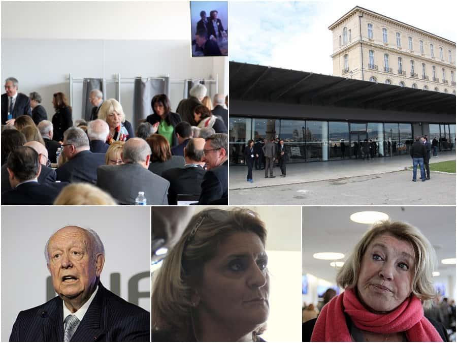 Reportage sur la matinée d'élection de Jean Claud Gaudin