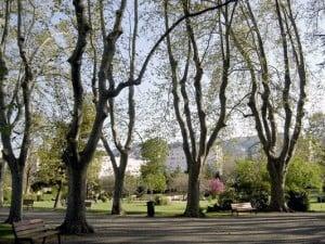 Le parc Bortoli
