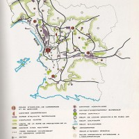 Plan d'aménagement de Marseille en  1973