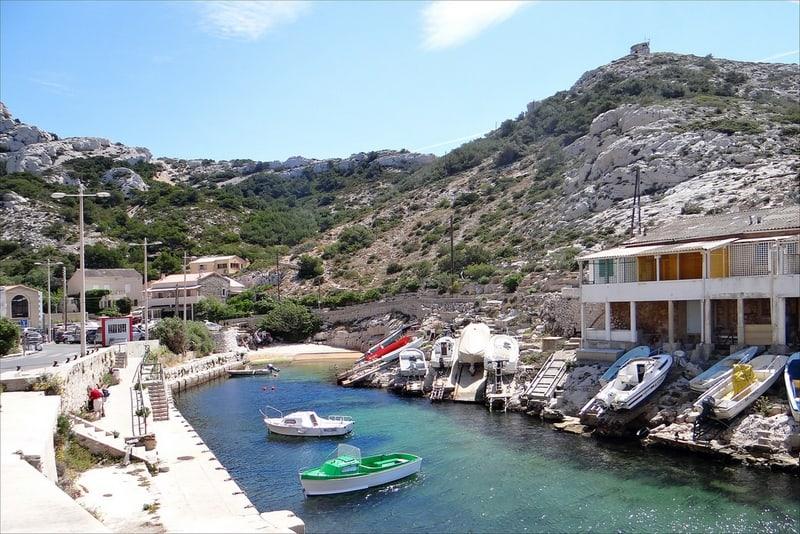 téléscaphe, Le téléscaphe de Callelongue à Marseille, l'ancêtre des sous-marins touristiques, Made in Marseille