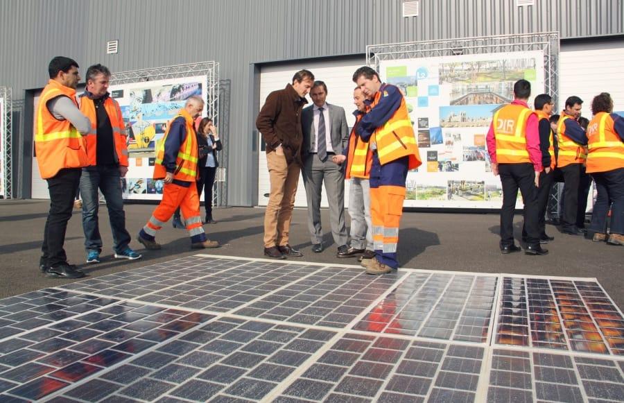 route solaire, [Vidéo] Ségolène Royal lance la première route solaire en direct de la L2, Made in Marseille