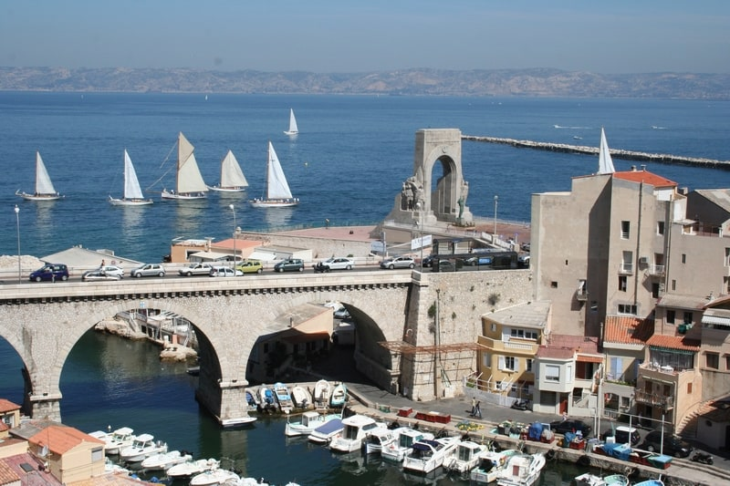 porte d'orient, Découvrez la Porte d'Orient et son panorama grandiose sur la Méditerranée, Made in Marseille