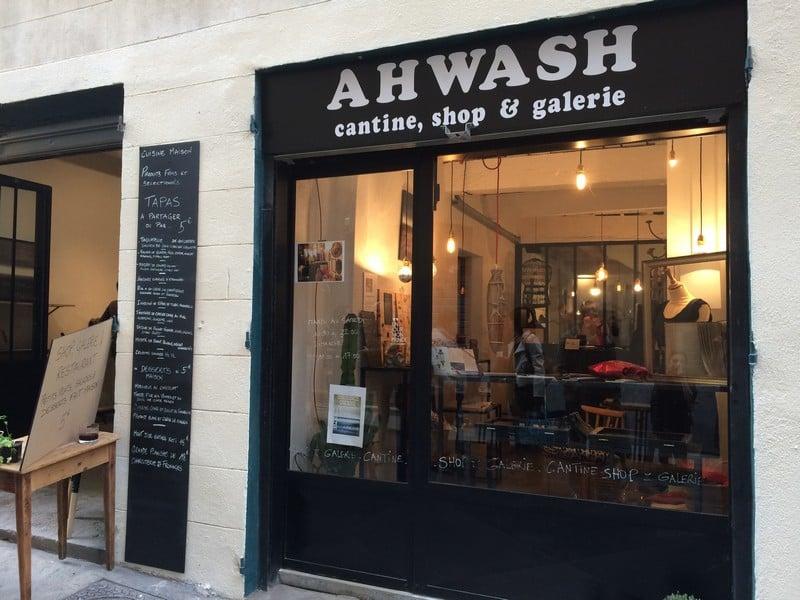 ahwash concept store le petit dernier du quartier du panier made in marseille. Black Bedroom Furniture Sets. Home Design Ideas