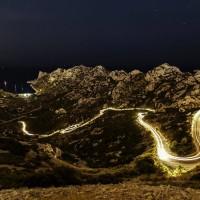 Vue du col de Sormiou de nuit par Ben'Art photography