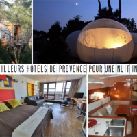 Les meilleurs lieux pour une nuit insolite en Provence