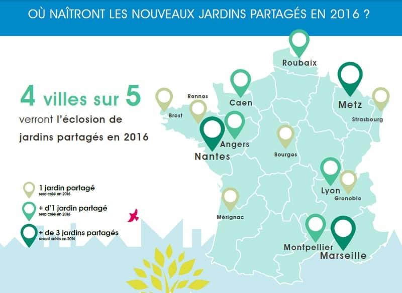 Marseille dans le top 3 fran ais des villes avec le plus for Jardin en france
