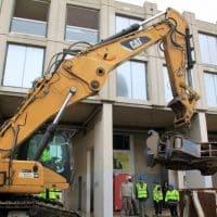 Vidéo - Démolition du bâtiment de Zizou à la cité La Castellane