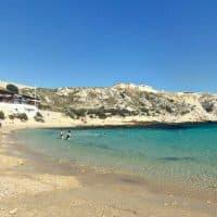 La plage de la calanque Saint Esteve