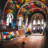 [Inspiration] Une église désaffectée transformée en skatepark