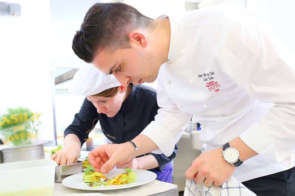 Rencontre avec ludovic turac jeune chef toil plein d for Apprentissage cuisine paris