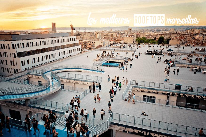 Les Meilleurs Terrasses Et Rooftops Marseillais En Images
