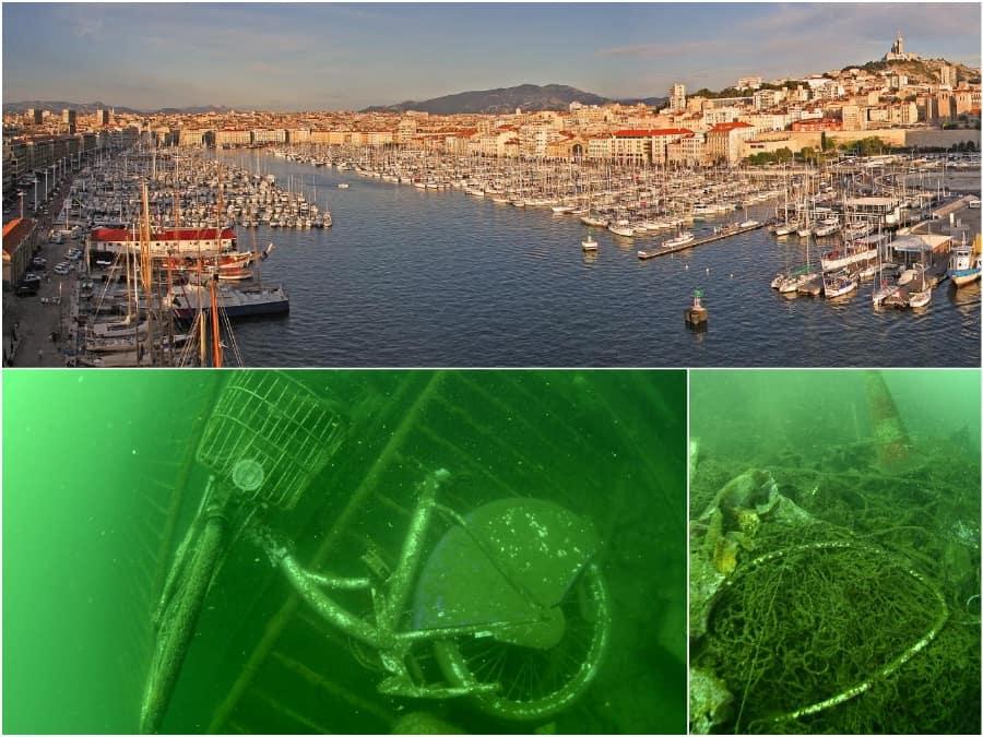 Vieux-Port, Opération de nettoyage exceptionnelle dans le Vieux-Port
