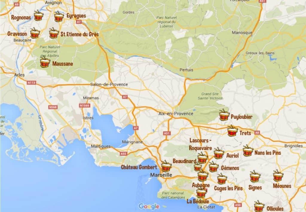 Les villages qui célèbrent la Saint Éloi