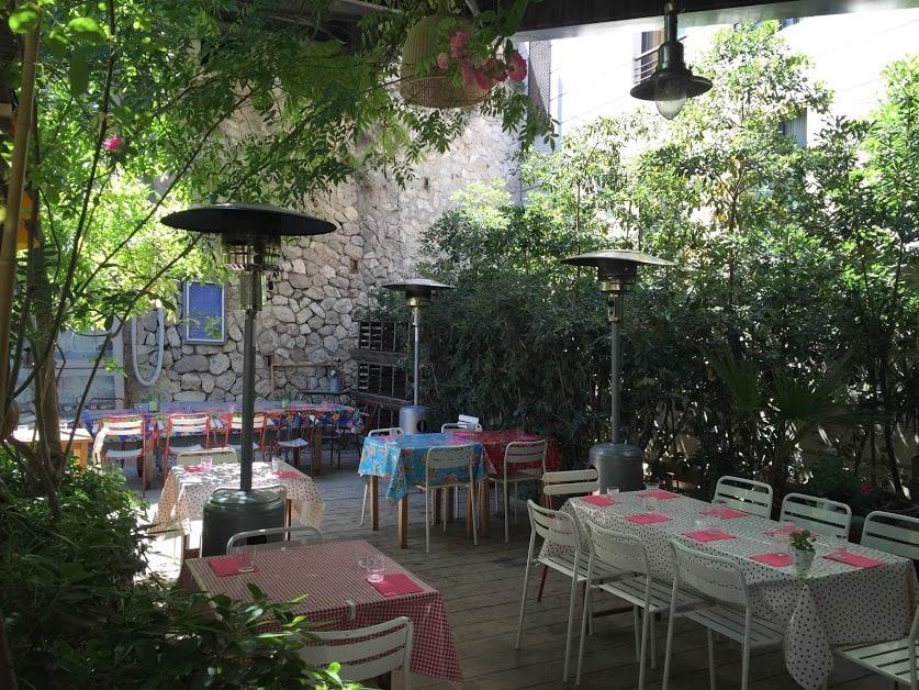 Superb Restaurant La Ferme Aubagne #12: Restaurant-passarelle-terrasse-jardin