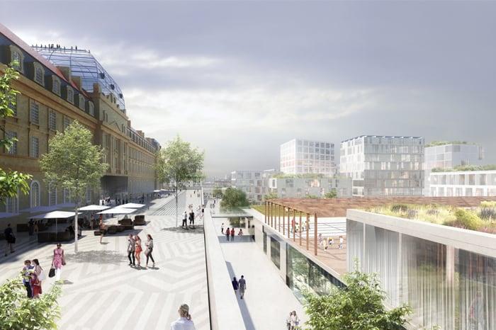 Quartiers Libres, Les images du projet qui va transformer Saint-Charles et la Belle de Mai