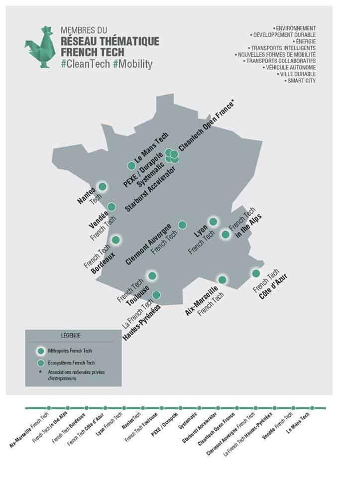 French Tech, Macron dévoile les réseaux thématiques de la French Tech