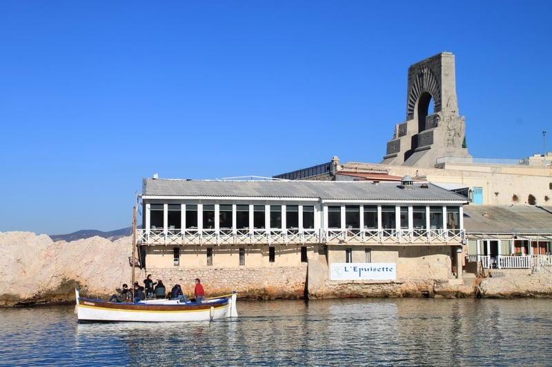 , L'Épuisette, cuisine de la mer gastro au Vallon des Auffes, Made in Marseille, Made in Marseille