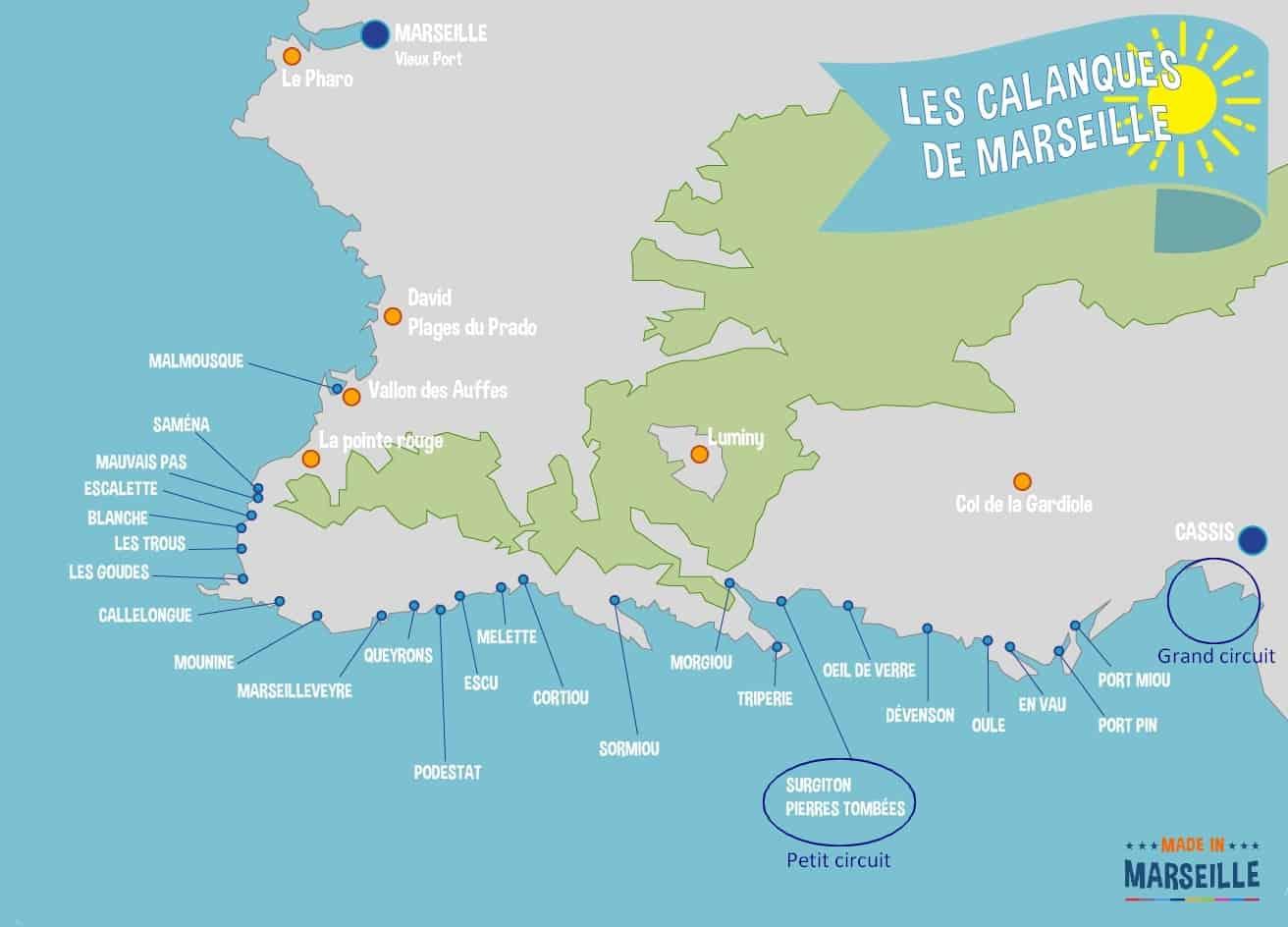 , Découvrez les Calanques par la mer grâce aux excursions en bateau!, Made in Marseille