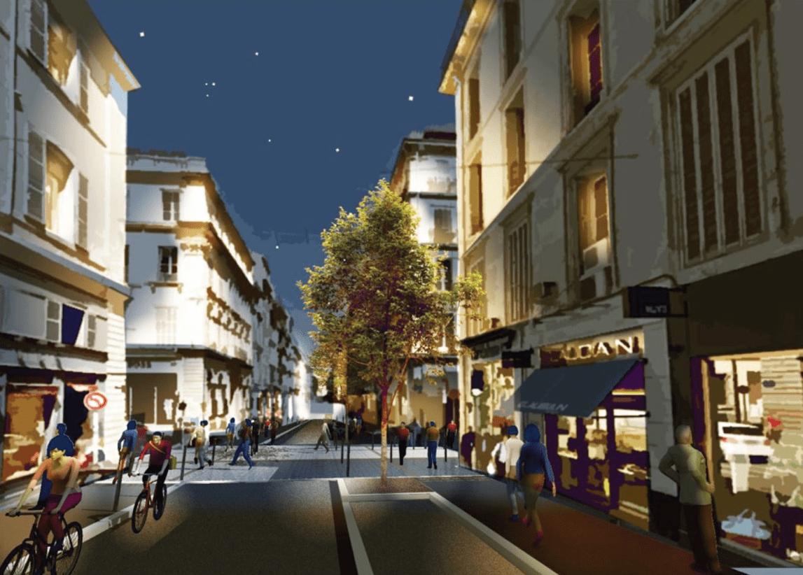 Paradis, Découvrez en images la nouvelle rue Paradis rénovée, Made in Marseille