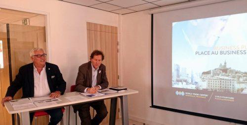 Paul Chauffard et Jacques Pfister ont inauguré les nouveaux lieux