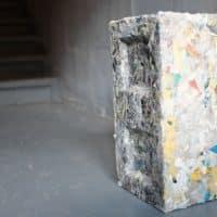 Byfusion – Il invente la brique de construction en déchets recyclés !