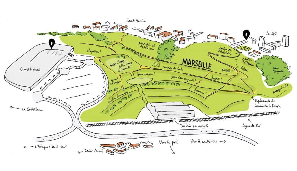 , Des ânes investissent le parc Foresta dans les quartiers Nord de Marseille, Made in Marseille