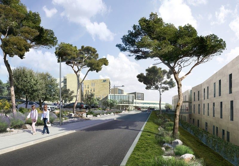 , Un nouvel hôpital moderne et performant va ouvrir à Aix-en-Provence en 2019