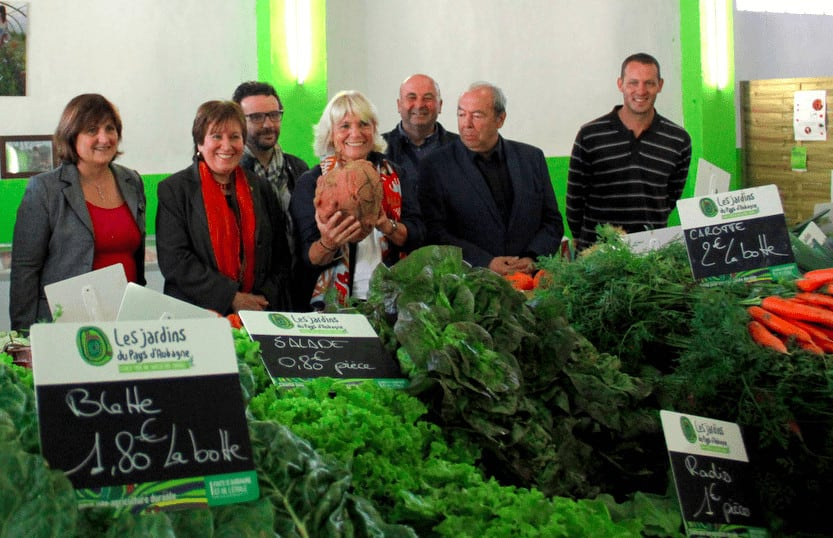 , Aubagne inaugure sa première halle de producteurs locaux, Made in Marseille, Made in Marseille