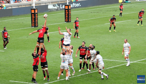 Match du Top 14 à l'Orange Vélodrome