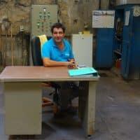 Michel Bianconi, maître savonnier depuis 20 ans au Fer à Cheval
